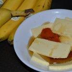 Bananen, Butter, Chillipulver, Honig
