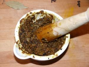 Murgh Chole - Gewürzpaste herstellen 2