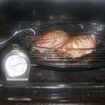Bei 80°C ab in den Ofen!