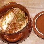 Das Kimchi ist fast fertig - jetzt noch ein paar Tage (am besten 2 Wochen) kühl stellen.