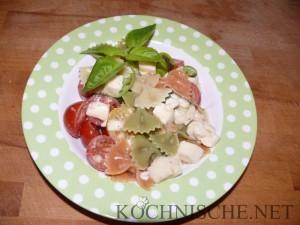 Pasta tricolore - Sommerpasta