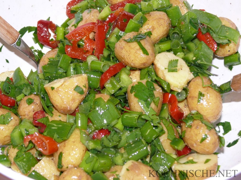 Chili-Kartoffelsalat #supergeil